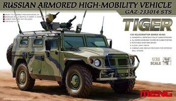 Russian Armored High-Mobility Vehicle GAZ-233014 STS Tiger · MEN VS003 ·  MENG Models · 1:35