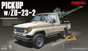Pickup w/ZU-23-2 · MEN VS004 ·  MENG Models · 1:35