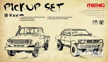 Pickup Set · MEN VS007 ·  MENG Models · 1:35