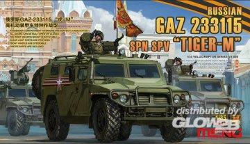 Russian GAZ 233115 Tiger-M SPN SPV · MEN VS008 ·  MENG Models · 1:35