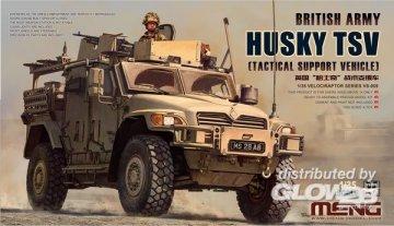 British Army Husky TSV (Tactical Support Vehicle) · MEN VS009 ·  MENG Models · 1:35