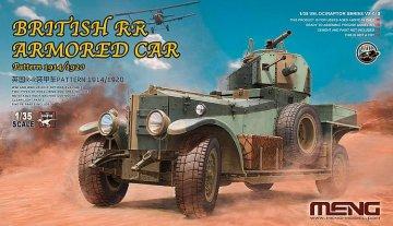 British RR Armored Car Pattern 1914/1920 · MEN VS010 ·  MENG Models · 1:35
