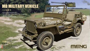 MB Military Vehicle · MEN VS011 ·  MENG Models · 1:35