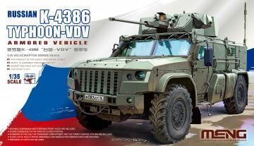 Russian K-4386 Typhoon-VDV Armored Vehicle · MEN VS014 ·  MENG Models · 1:35