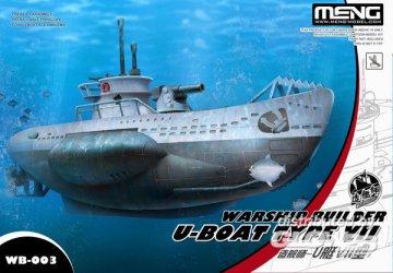 Warship Builder- U-Boat Type VII (Cartoon Model) · MEN WB003 ·  MENG Models
