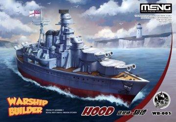 Warship Builder - Hood · MEN WB005 ·  MENG Models