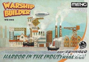 Warship Builder - Harbor In The Industrial Age (Cartoon Model) · MEN WB006 ·  MENG Models