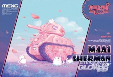 M4A1 Sherman (Cartoon Model,Pink Color) · MEN WWP002 ·  MENG Models