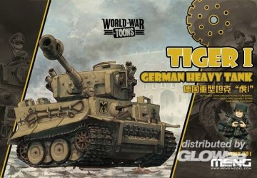 German Heavy Tank Tiger I · MEN WWT001 ·  MENG Models
