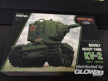Soviet Heavy Tank KV-2 (cartoon model) · MEN WWT004 ·  MENG Models