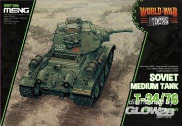 Soviet Medium Tank T-34/76 (World War Toons) · MEN WWT006 ·  MENG Models