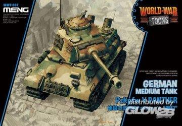 German Medium Tank PzKpfw V Panther · MEN WWT007 ·  MENG Models