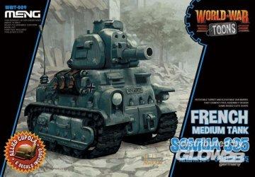 French Medium Tank Somua S-35 (Cartoon Model) · MEN WWT009 ·  MENG Models