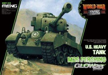 U.S. Heavy Tank M26 Pershing (Cartoon Model) · MEN WWT010 ·  MENG Models