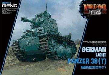 German Light Panzer 38(T) (CartoonModel) · MEN WWT011 ·  MENG Models