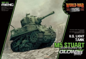 U.S. Light Tank M5 Stuart (Cartoon Model) · MEN WWT012 ·  MENG Models