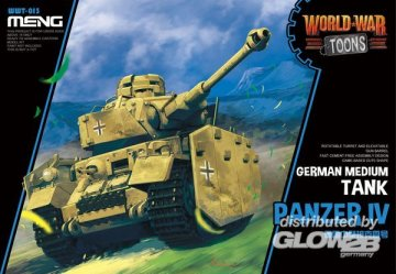 German Medium Tank Panzer IV (CartoonModel) · MEN WWT013 ·  MENG Models