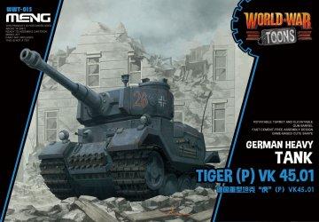 German Heavy Tank Tiger (P) (Cartoon Model) · MEN WWT015 ·  MENG Models