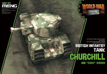 British Infantry Tank Churchill (Cartoon Model) · MEN WWT017 ·  MENG Models