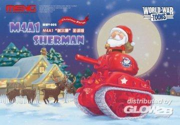 M4A1 Sherman - Christmas Edition (Cartoon Model) · MEN WWV002 ·  MENG Models