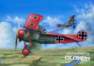 Fokker Dr.I (kits) · MRT 62403 ·  Merit · 1:24
