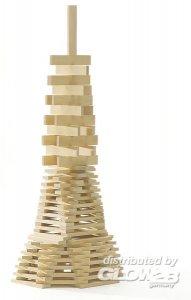 Holzbausteine, 300 Stück, natur · MIC 10203800 ·  Micki