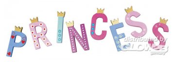 Prinzessinnen-Buchstabe: L Höhe 6 cm · MIC 10205112 ·  Micki