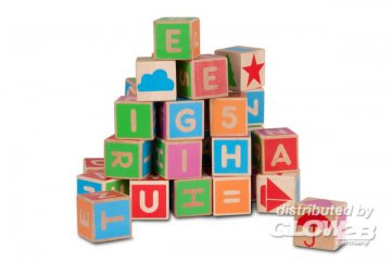 Bausteine mit Buchstaben, 36 Stück · MIC 10213500 ·  Micki
