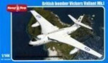 British bomber Vickers Valiant Mk.I · MMR 144003 ·  Micro Mir · 1:144