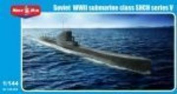 Soviet WWII submarine class SHCH seriesV · MMR 144005 ·  Micro Mir · 1:144