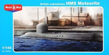 British submarines HMS Meteorite · MMR 144007 ·  Micro Mir · 1:144