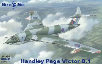 Handley Page Victor  B.1 · MMR 144027 ·  Micro Mir · 1:144