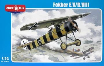 Fokker E.V/D.III · MMR 32001 ·  Micro Mir · 1:32