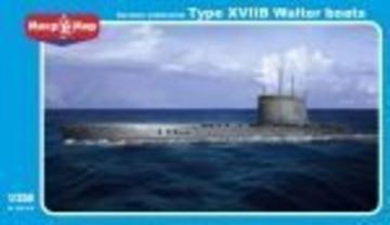 German submarine U-boat type XVIIB Walter · MMR 350018 ·  Micro Mir · 1:350