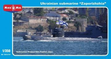 Zaporizhzhia Ukrainian submarine,project · MMR 350019 ·  Micro Mir · 1:350