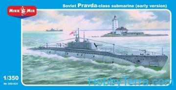 Pravda class · MMR 350031 ·  Micro Mir · 1:350