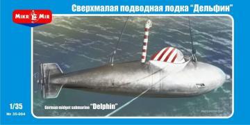 German midget submarine Delphin-1 · MMR 35004 ·  Micro Mir · 1:35