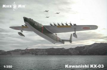 Kawanishi KH-03 · MMR 350040 ·  Micro Mir · 1:350