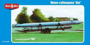 German mini-submarine Hai · MMR 35006 ·  Micro Mir · 1:35