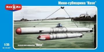 German mini-submarine Hase · MMR 35007 ·  Micro Mir · 1:35