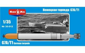 German torpedo G7A/T1 /Paar · MMR 35012 ·  Micro Mir · 1:35