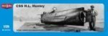 CSS H.L.Hanley, Confederate submarine · MMR 35013 ·  Micro Mir · 1:35