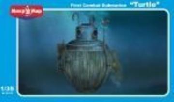 Turtle first combat submarine · MMR 35015 ·  Micro Mir · 1:35