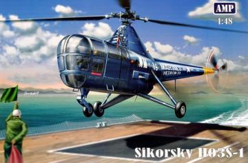 Sikorsky H03S-1 · MMR 48001 ·  Micro Mir · 1:48