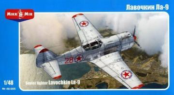 Lavochkin La-9 Soviet fighter · MMR 48005 ·  Micro Mir · 1:48