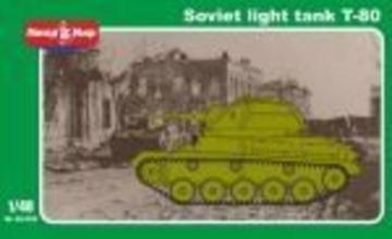 Soviet light tank T-80 · MMR 48009 ·  Micro Mir · 1:48