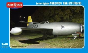 Yakovlev Yak-23 (Flora) Soviet fighter · MMR 48013 ·  Micro Mir · 1:48