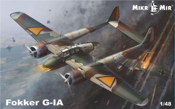 Fokker G-IA · MMR 48016 ·  Micro Mir · 1:48