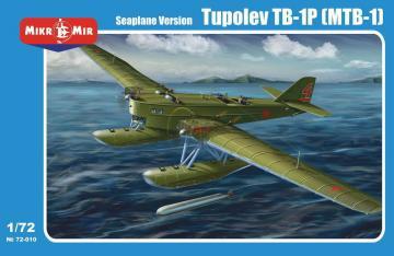 Tupolev TB-1P (MTB-1) floatplane · MMR 72010 ·  Micro Mir · 1:72