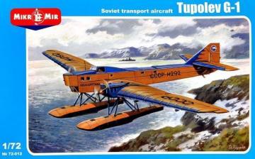 Tupolev G-1 Soviet transport aircraft · MMR 72012 ·  Micro Mir · 1:72